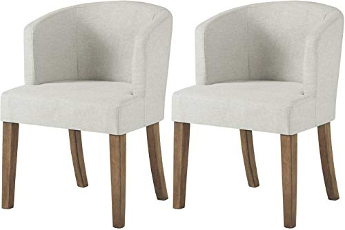 Signature Design by Ashley Grindleburg dining-chair, Dark Brown Linen