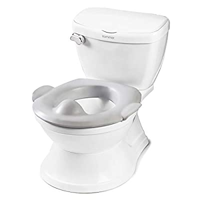 Summer Infant My Size Potty Train & Transition with Removable Potty Topper, White