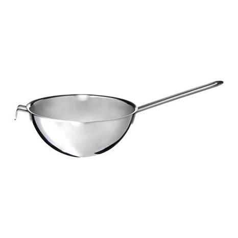 Ikea Stabil - Tamiz para olla (doble, para baño maría, acero inoxidable)