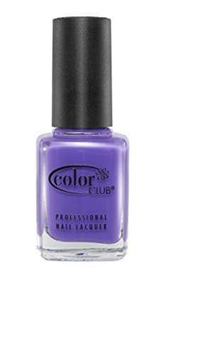 Color Club Poptastic Neons Nail Polish, Purple, Pucci, Licious, .05 Ounce