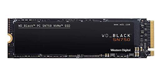 WD BLACK SN750 1TB NVMe Internal Gaming SSD - Gen3 PCIe, M.2 2280, 3D NAND - WDS100T3X0C by Western Digital (Image #1)