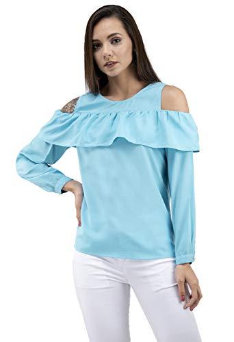 Women Casual Frill Full Sleeve top