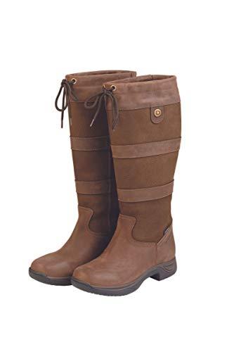 Dublin Women's Wide River Equestrian Boot – Brown – 11