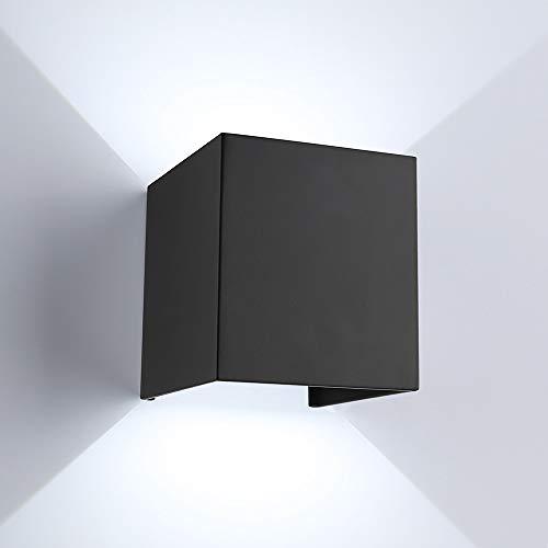 ETiME Modern Wall Sconce Light Black, 3.94