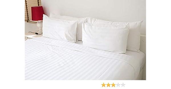 Royal Europe Textile - COLCHAS CUTI, 50/50 ALG-Pol, P. Cuadrada, Blancas, Pack 2 ud, Cama 90cm: Amazon.es: Hogar