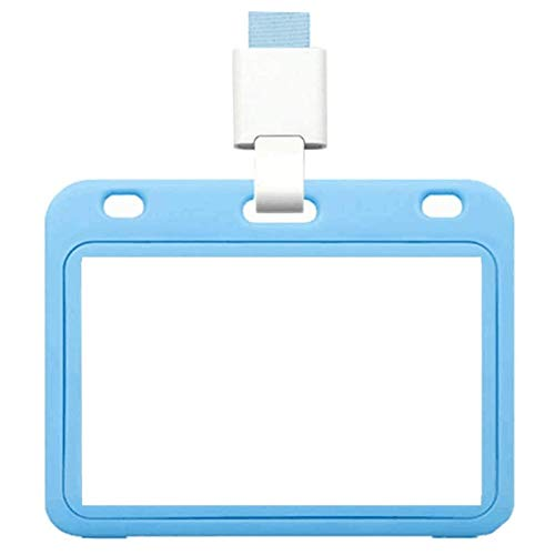 wSelio Vaccination Card Protector 4x3 Inches, Immunization Record Vaccine Cards Holder Plastic Sleeve with Waterproof Type Resealable Zip Suitable for Events and Travel(A-Light Blue,1PC)