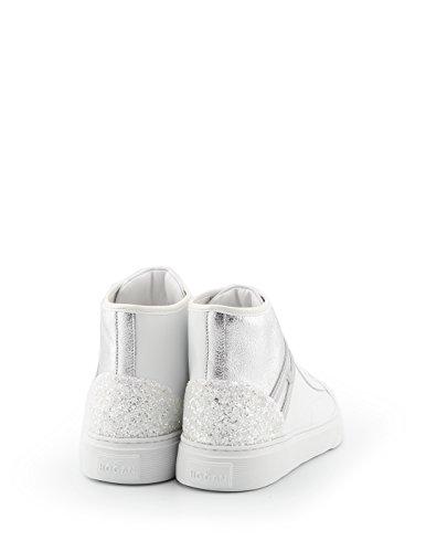 Hogan Damen Hxw3660j980iii0351 Weiss Leder Hi Top Sneakers