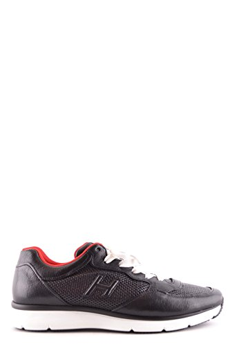 Hogan Mens Mcbi148428o Sneakers In Pelle Nera
