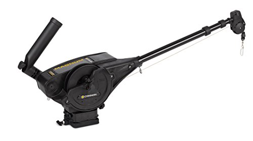 Cannon Magnum 10 STX Downrigger (Black) by Johnson Outdoors