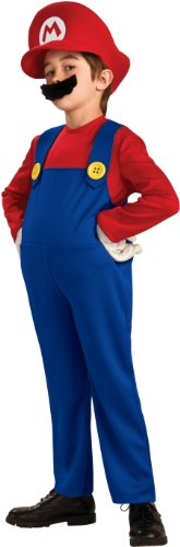 Super Mario Brothers Deluxe Child Costume