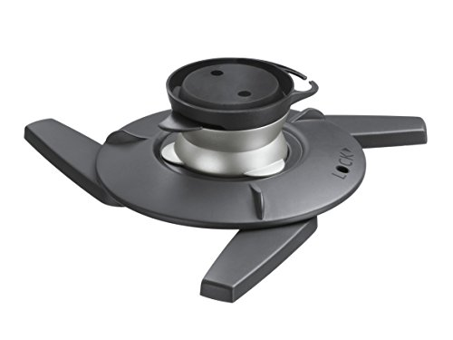 Vogel's Projector Mount for Wall or Ceiling, Universal Fit, Swivel and Tilt, Max 22 lbs - EPC 6545 Ceiling Mount, Black/Silver by Vogel's