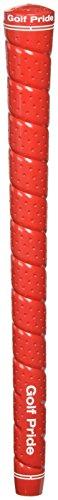Golf Pride Tour Wrap 2G Grip Kit (13-Piece), Red (Economy One Piece)