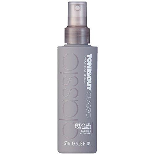TONI&GUY Classic Gel Spray For Wavy Hair  5.0 oz