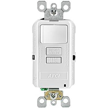 Astounding Leviton Gfsw1 W Self Test Smartlockpro Slim Gfci Combination Switch Wiring Digital Resources Funiwoestevosnl