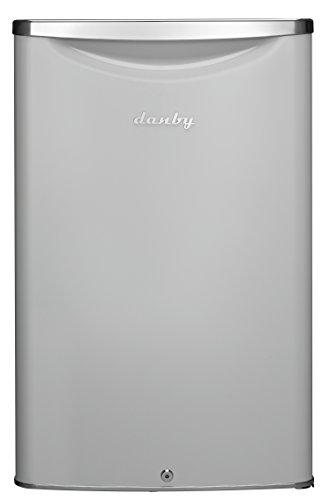 Cubic Mini - Danby DAR044A6PDB 4.4 cu.ft. Contemporary Classic Compact All Refrigerator, Pearl Metallic White