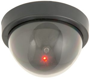 Dome Dummy Attrappe Kamera mit 1 rote LED