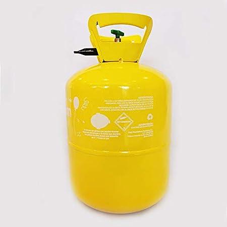 Bombona de Helio para Globos 0,42lt (50 globos de latex 23 cm no incluidos)