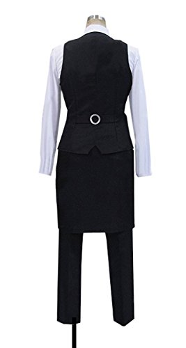 Dreamcosplay Anime Death Parade Decim Work Uniform Cosplay Costume by Dreamcosplay (Image #1)
