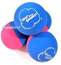 Sky Bounce Color Rubber Handballs for Recreational Handball, Stickball, Racquetball, Catch, Fetch, and Many More Games, 2 1/4-Inch (Blue/Pink, 12 Count, 6.00, 3.00, 6.00, 14.00, 2.00)
