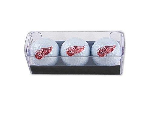 【在庫限り】 DetroitレッドWings 3 - Pack B01K22NYT4 Regulationゴルフボール、レッド 3 B01K22NYT4, ミツハシライス(お米 玄米 雑穀):94b94373 --- senas.4x4.lt