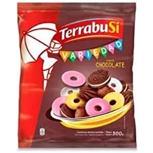 Terrabusi Galletitas / Assorted Chocolate Cookies (Variedad Chocolate, 300 gr.)
