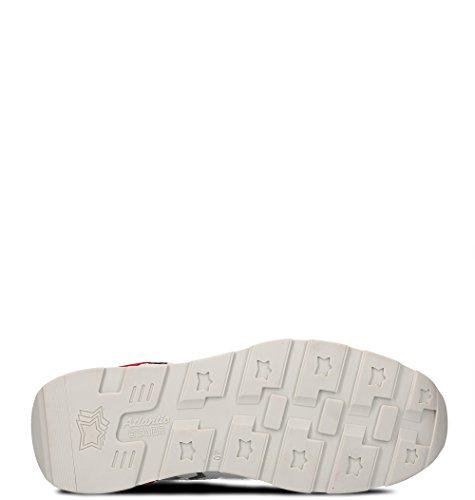 Atlantische Sterren Herren Siriusrb85b Rot Leder Sneakers