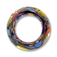 Swarovski Cosmic Ring Component 4139 20mm Crystal Volcano (Package of 3) 4139 20mm Cosmic Ring Crystal