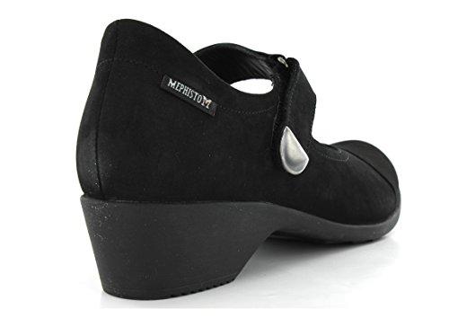 Jane 6 Ladies 5 Shoe Mary Mephisto Casual Black Mephisto UK Reine xwnURqY88