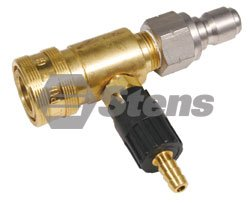 (Stens 758-159 Adjustable Chemical Injector, Replaces General Pump: 100633, 3/8