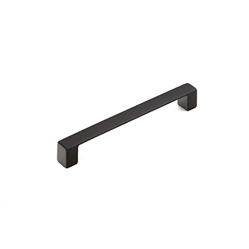 Schaub Classico Collection 6-5/16 in. (160mm) Pull, Matte Black - 222-MB ()