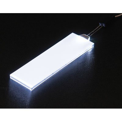 White LED Backlight Module - Medium 23mm x 75mm