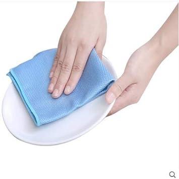 3PCS,25 * 25cm Super Assorbente Senza Lasciare Segni Schermi Panno per Lucidatura in Microfibra con Rete in Polietilene per La Pulizia di Specchi JGDD Straccio a Squame di Pesce Piatto Vetro