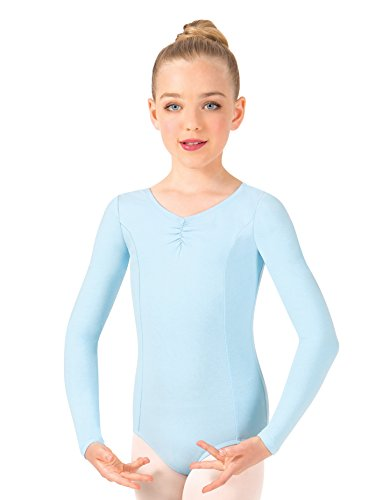 Girls Pinch Front Long Sleeve (Long Sleeve Pinch Front)