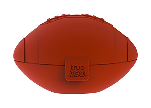 TrueZoo Football Silicone Ice Mold, Brown,