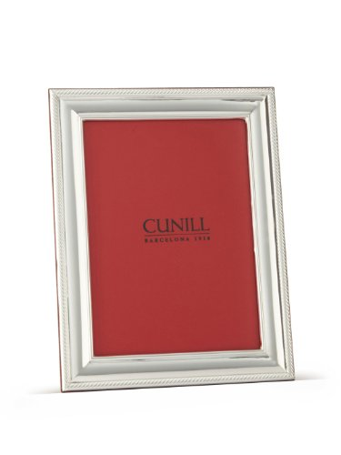Cunill Silver Cord Frame for 8 by 10-Inch Photograph, Sterling Silver by Cunill Silver