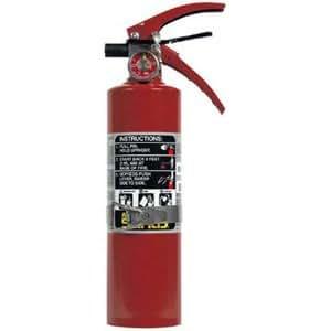 Amazon.com: 2 1/2 lb ABC Fire Extinguisher w/Vehicle