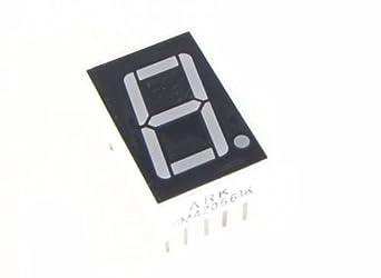 Kathode Fairchild FND368 ►7-Segment LED Display ±1 ROT 9mm gem