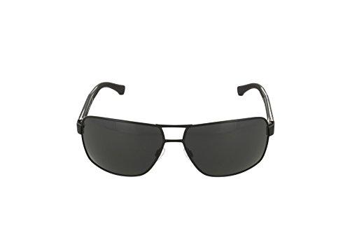 Emporio Armani EA2001 Sunglasses-301487 Black (Gray Lens)-64mm