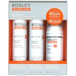 Bosley Pro Bosrevive Kit for Visible Thining hair (Color-treated hair) by BOSLEY