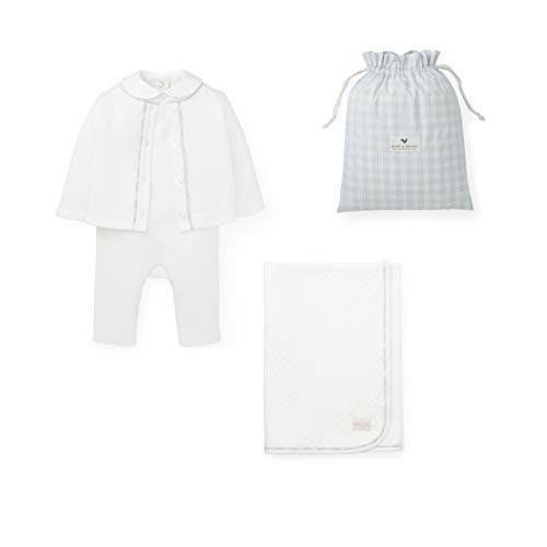 Hope & Henry Layette Ivory Quilted Gift Set ()