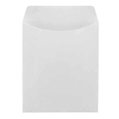 Hygloss Products, Inc White Color Library Pockets 30 Ct, Piece