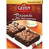 - Gefen Brownie Cake Mix Gluten Free Kosher For Passover 14 oz. Pack of 3.