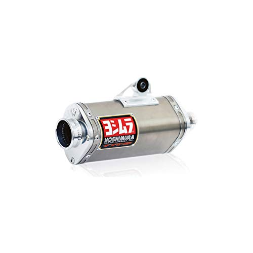 - Yoshimura 04-13 Honda CRF100F TRS Comp Series Complete Exhaust with Stainless Header (Enduro/Stainless Steel)