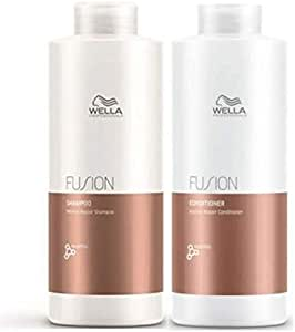 Wella Fusion Duo Pack, Intense Repair Shampoo 1L and Intense Repair Conditioner 1L