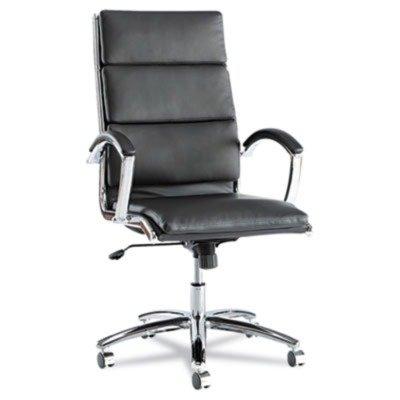alera-nr4119-neratoli-series-high-back-swivel-tilt-chair-black-soft-leather-chrome-frame