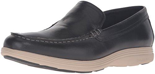 Black Cole Grand on Men's Haan Tour Slip Venetian Loafer Leather cobblestone pPWpq8fR