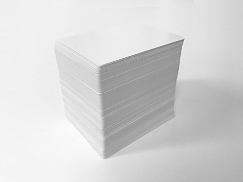 Blank Playing Cards  Poker Size  Aqueous Finish   216 Cards