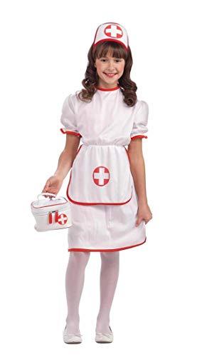 (Forum Novelties Classic White Nurse Costume, Child)