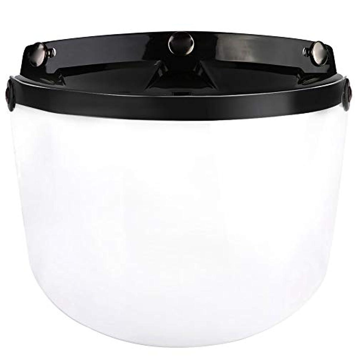 [해외] ARAMOX 오토바이의 헬멧 렌즈,방풍의 오토바이의 헬멧 헬멧 렌즈의 방풍 유리의 바이저 렌즈3의 스냅 (transparent)