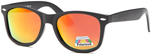 West Coast Polarized Sunglasses | Lightweight Plastic Frame | Reduces Sun - Glasses Wafer